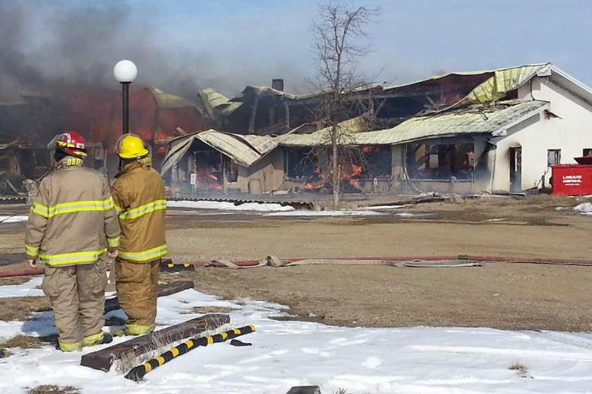 Massive fire destroys Craik Eco-Centre