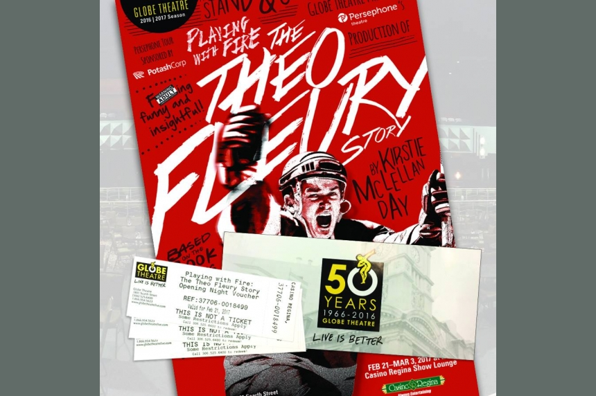 Theo Fleury's 'Playing With Fire' comes to Regina stage