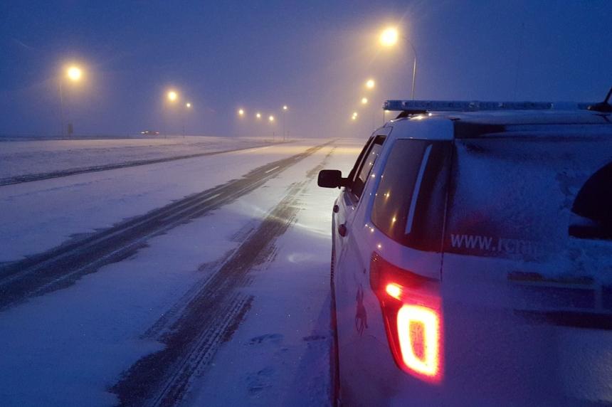 Snowy weather impacts Sask. highways