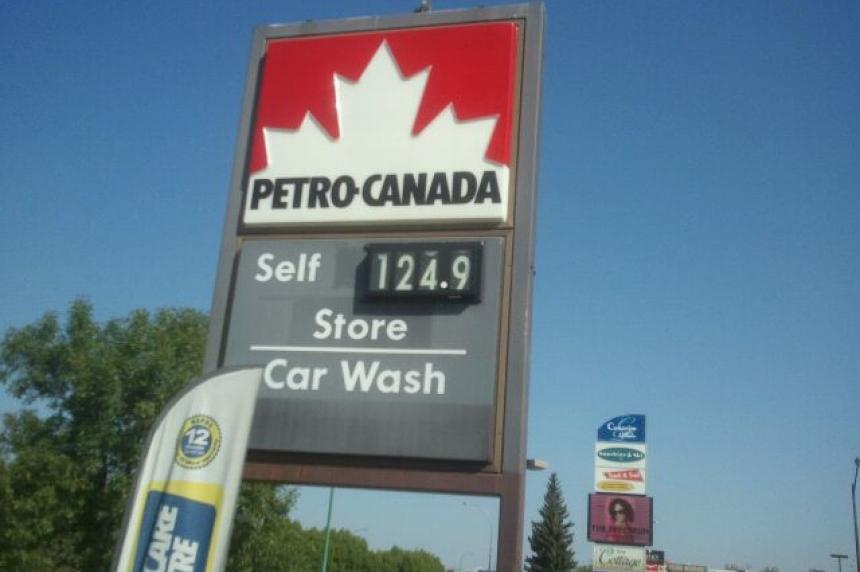 Regina gas prices jump 16 cents overnight