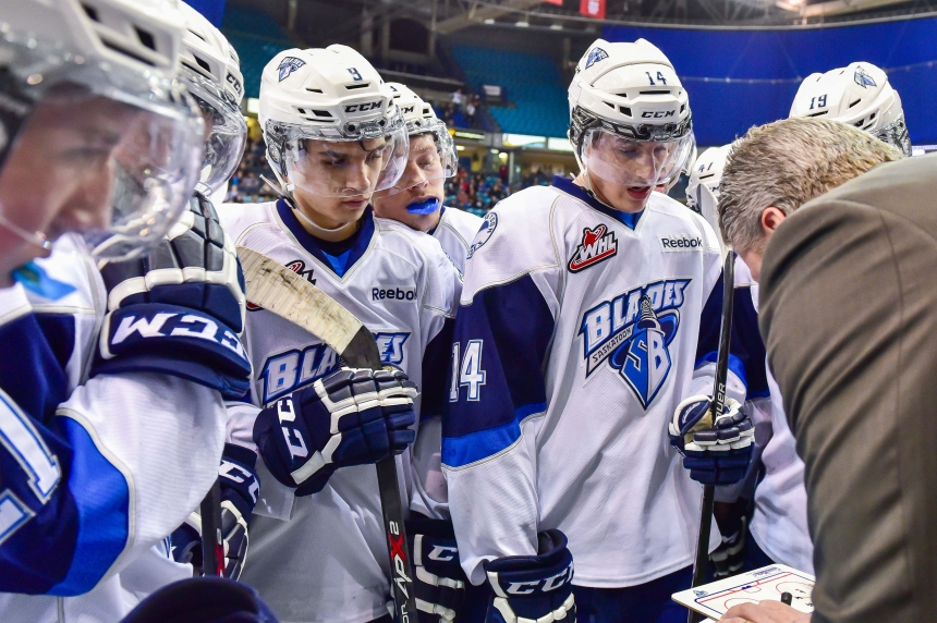 Blades split two-game series with Swift Current