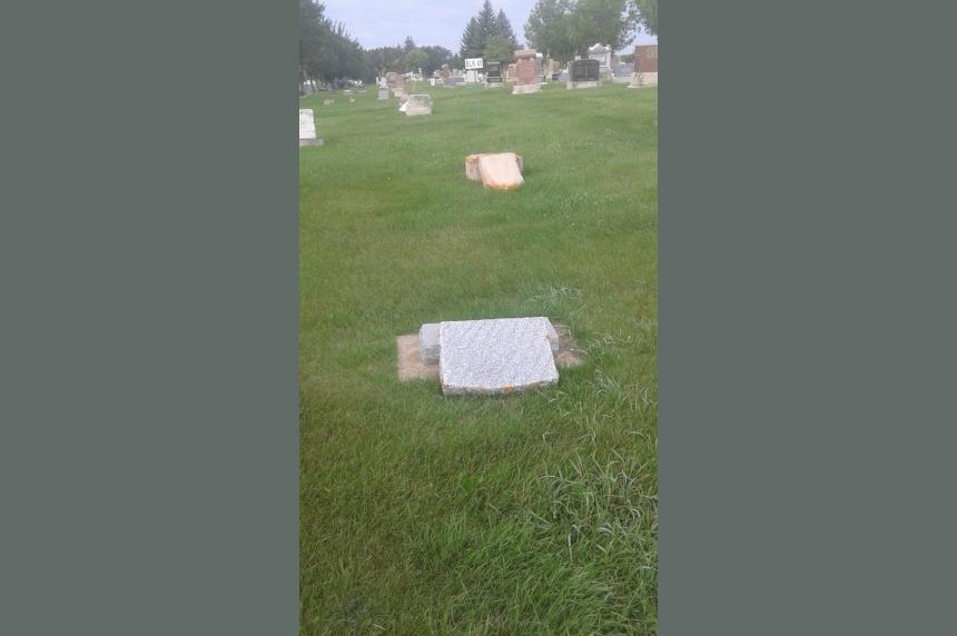 Vandals strike Moose Jaw Cemetery