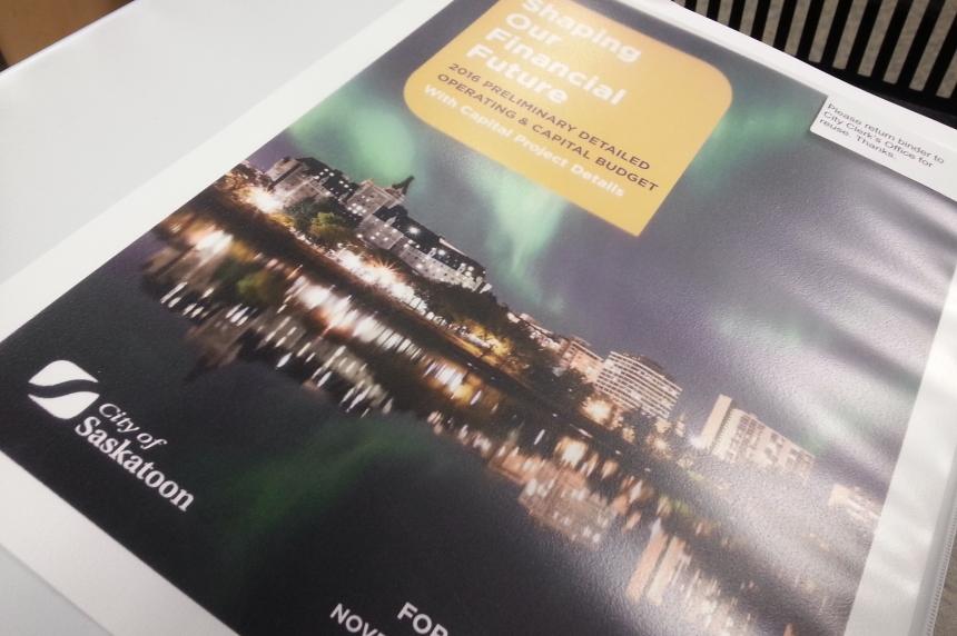 Saskatoon releases proposed 2016 budget
