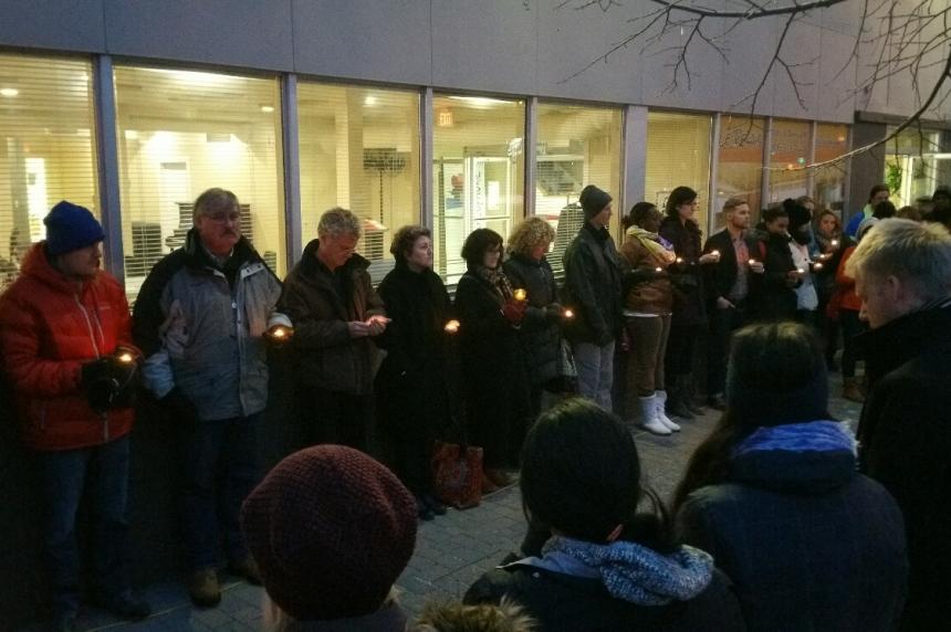 Saskatoon vigil marks week since Paris attacks