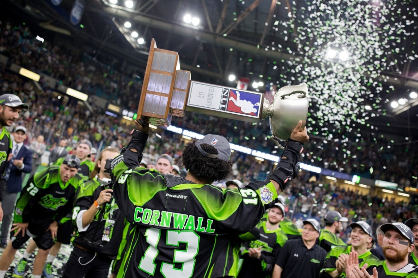 Sask. Rush looking for third straight NLL championship