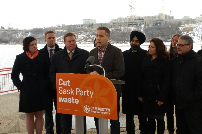 NDP attacks Lean in Saskatoon campaign event