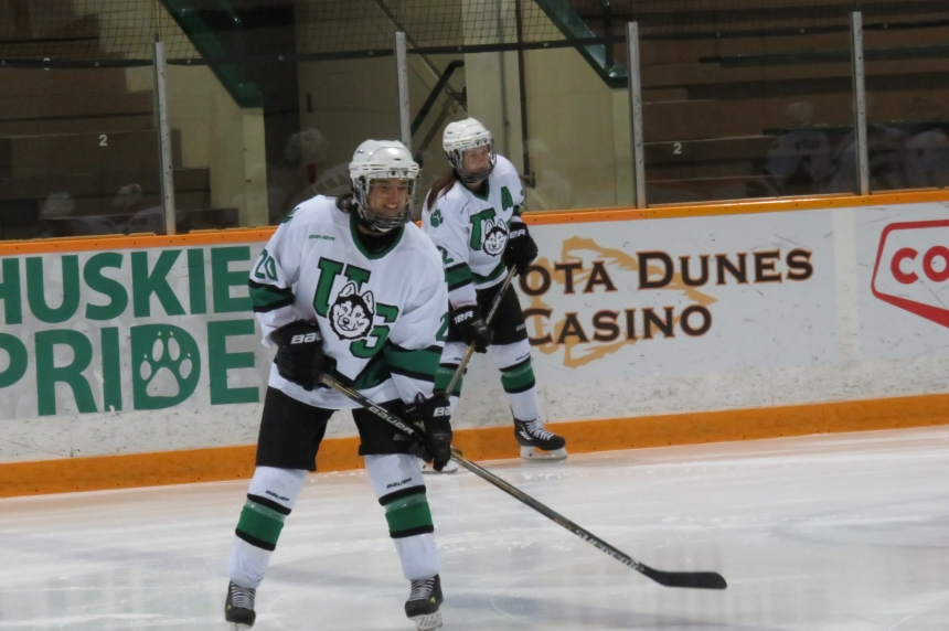 Men split, women doubled up in series with Manitoba