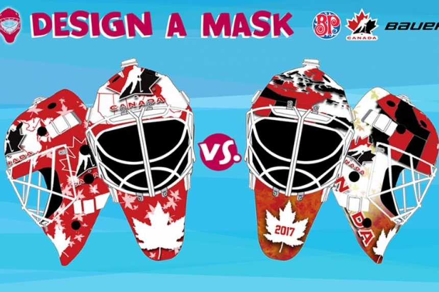 Annaheim, Sask. boy's mask is a finalist for World Juniors