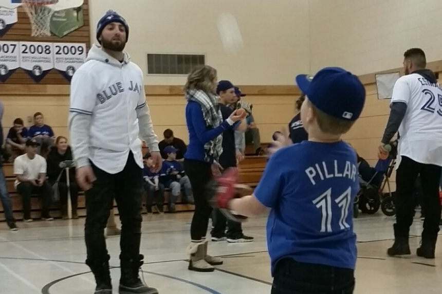 'The little things are so special': Blue Jays learn lessons from children in Challenger Baseball