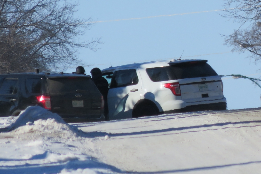Tactical units block street during 'high-risk' search of Saskatoon home