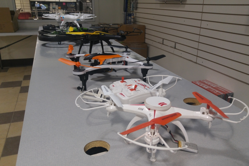 Drone drug drop off raises eyebrows