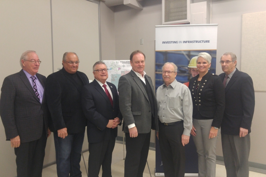 Ottawa, province provides funding for $22M wastewater treatment plant near Regina