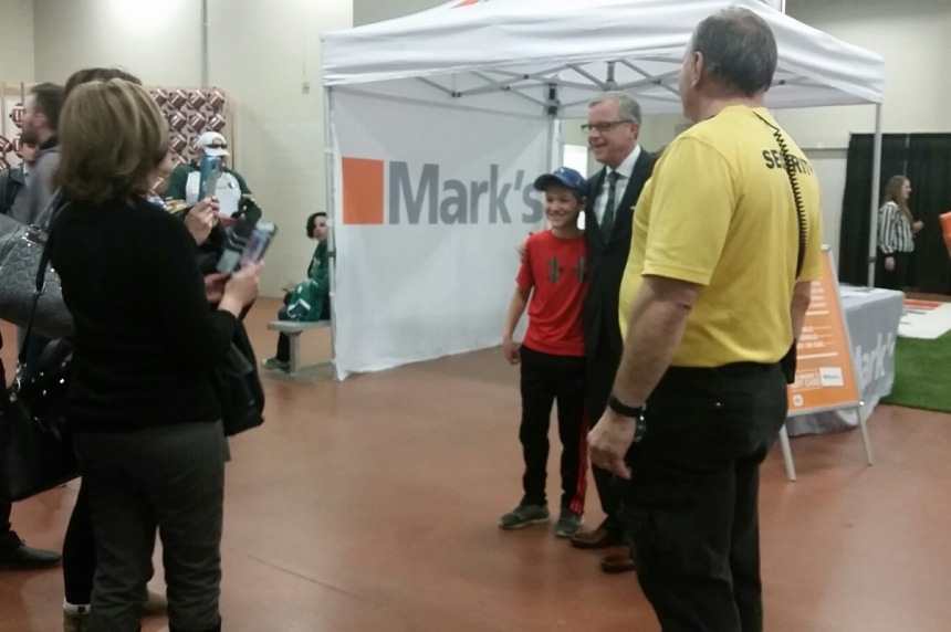 Premier Wall met with applause, boos at CFL Week after budget