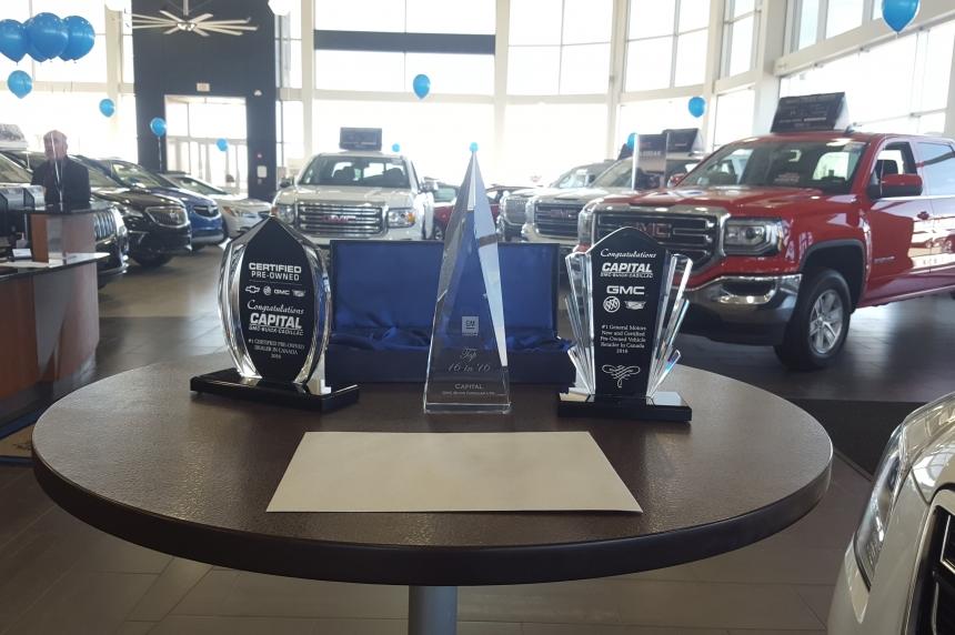 Regina car dealer recognized with national awards