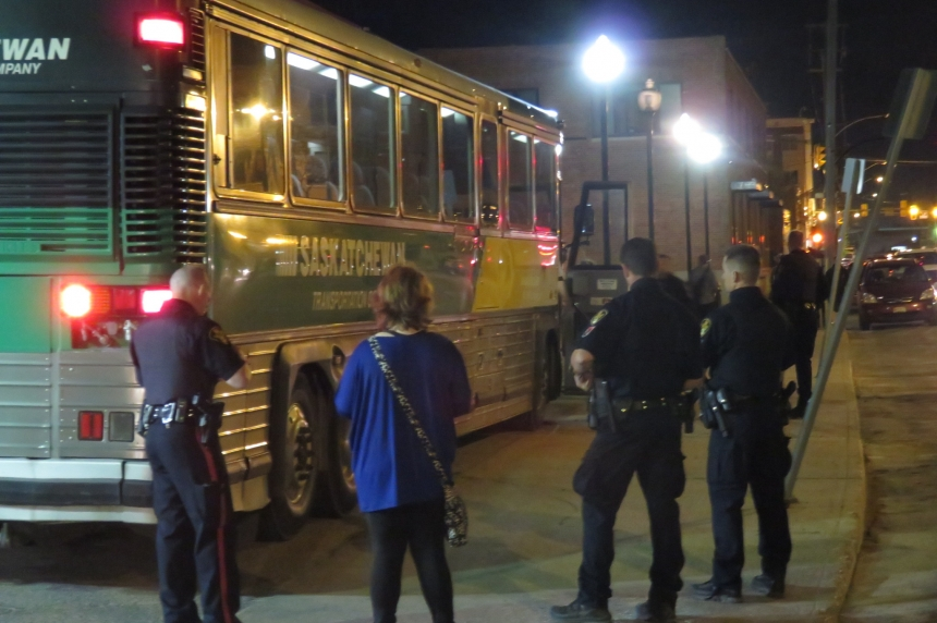 Protesters arrested after 5 hour takeover of last STC bus