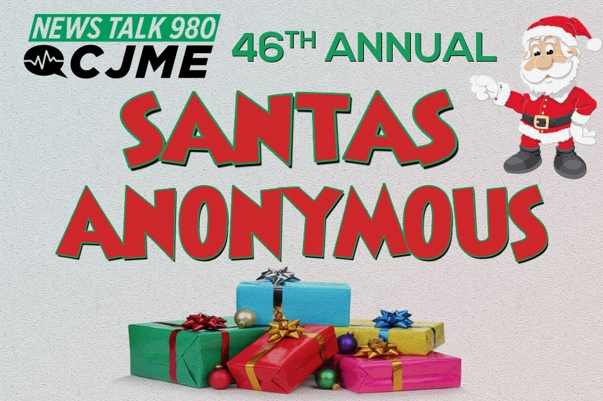Toy barrels roll out for CJME's 46th Annual Santas Anonymous