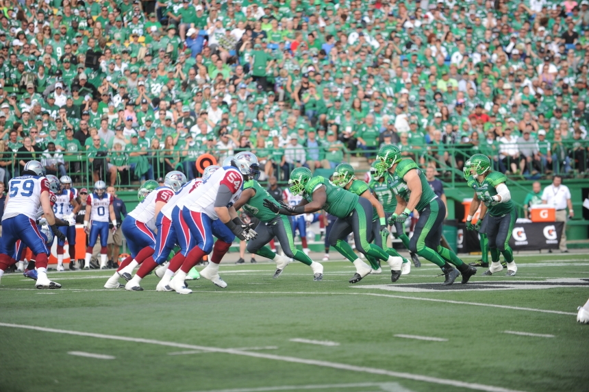 GAME DAY: Riders, Alouettes set to clash at Mosaic Stadium