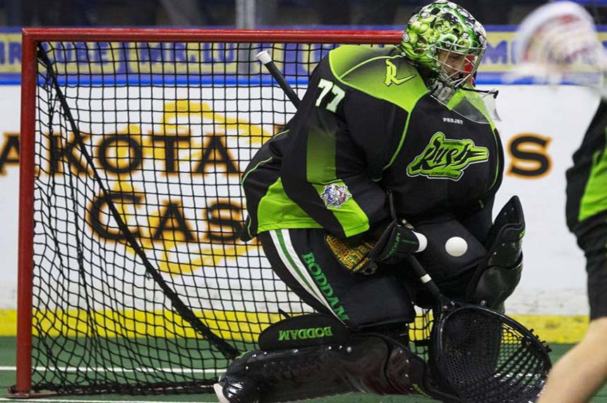 Saskatchewan Rush trade goalie