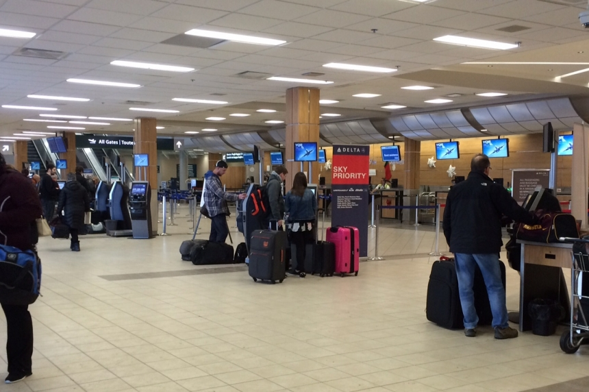 Regina airport hits its yearly peak for travellers