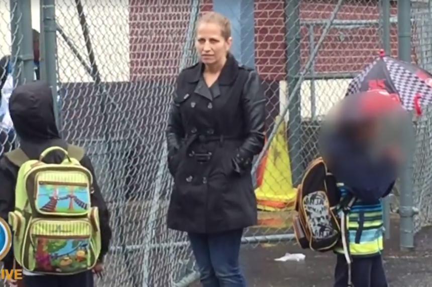 Karla Homolka volunteering at kids' school