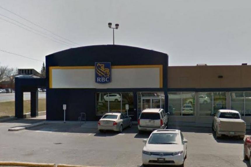 Regina man charged with allegedly robbing bank at gunpoint