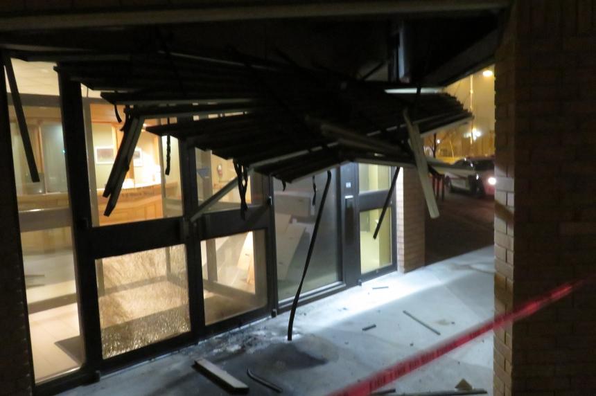 IED bomb detonated at Saskatoon Provincial Courthouse