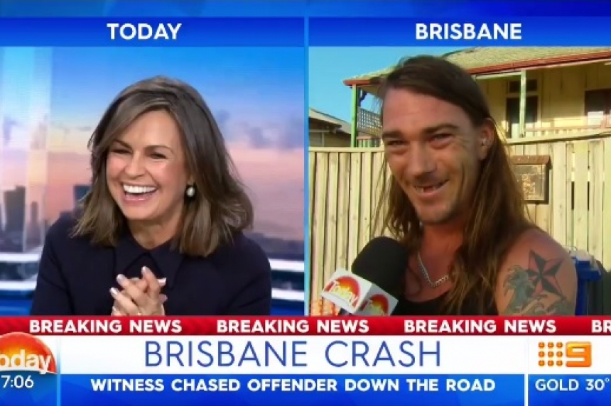 Most Australian interview ever? Brisbane man goes viral in epic retelling of suspect chase