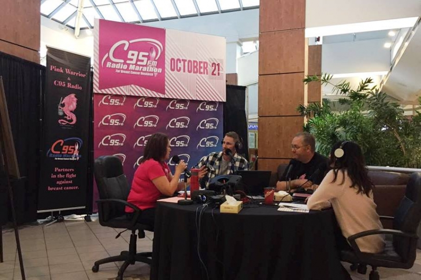 C95 Radio Marathon raises funds for breast cancer research