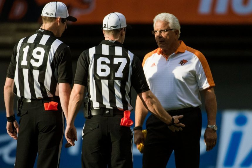 CFL restricts coaches' challenges to curb video reviews