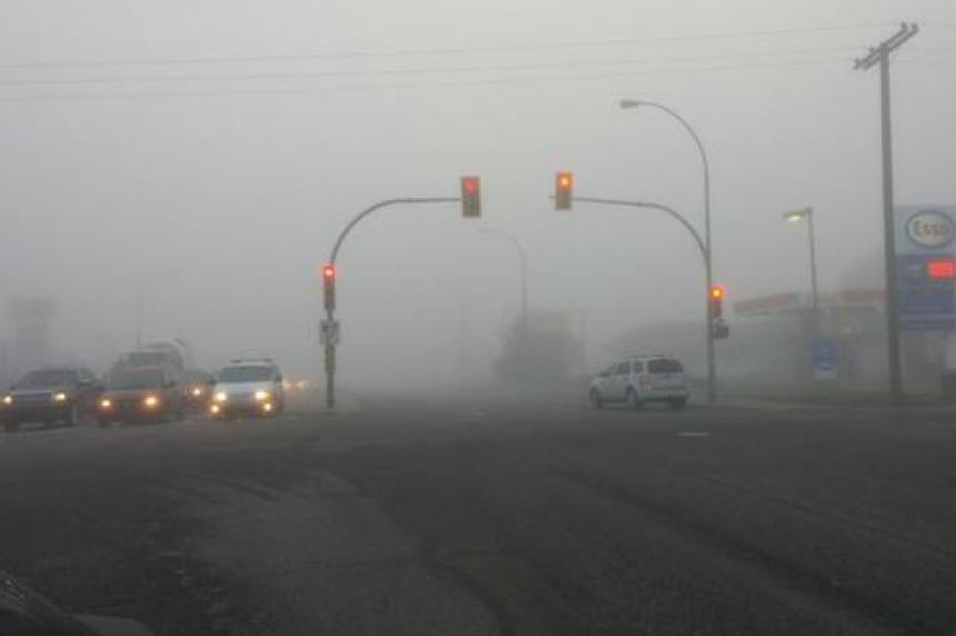 Fog leads to several crashes around Saskatoon, 1 person taken to hospital