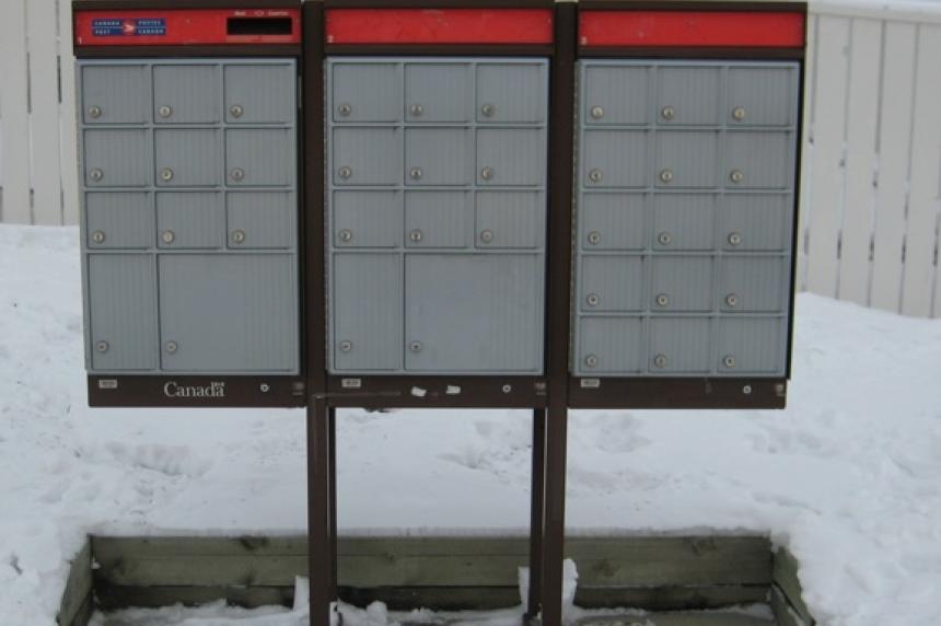 Door to door mail delivery still at 81 per cent in Regina