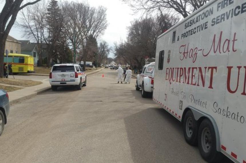 Hazmat concerns a false alarm