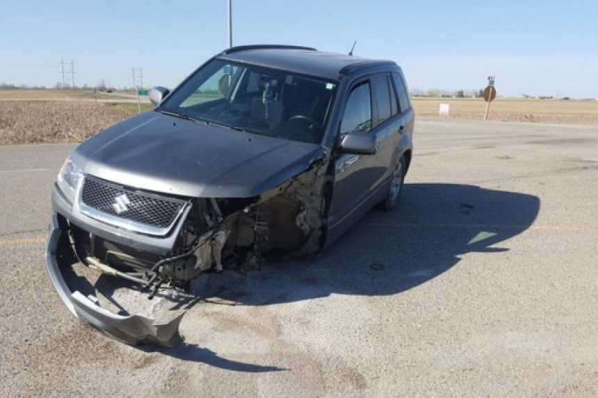 Crash at Hwy 11 and Wanuskewin Road leaves two injured