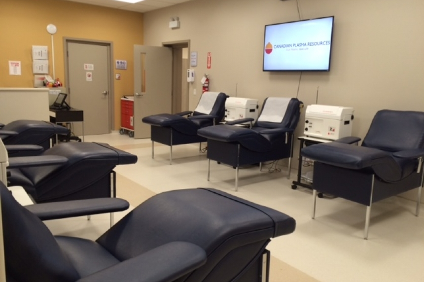 Canadian Blood Services suggest 'dip' in donations due to Saskatoon private plasma clinic