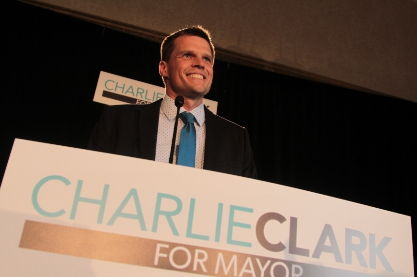 Clark reflects on transit, budget on 1-year election mark