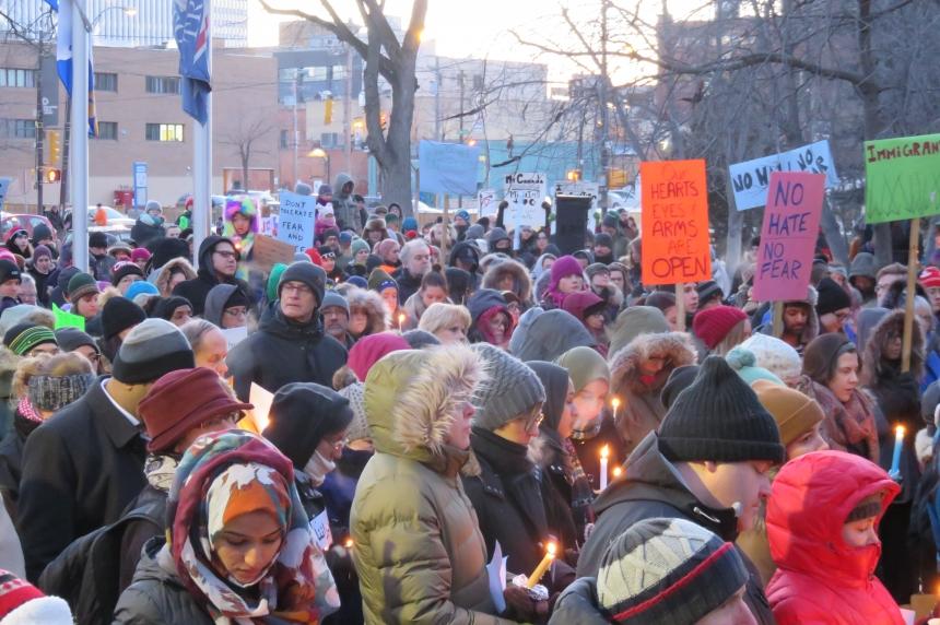 Solidarity vigil in Saskatoon draws more than 1,000 people