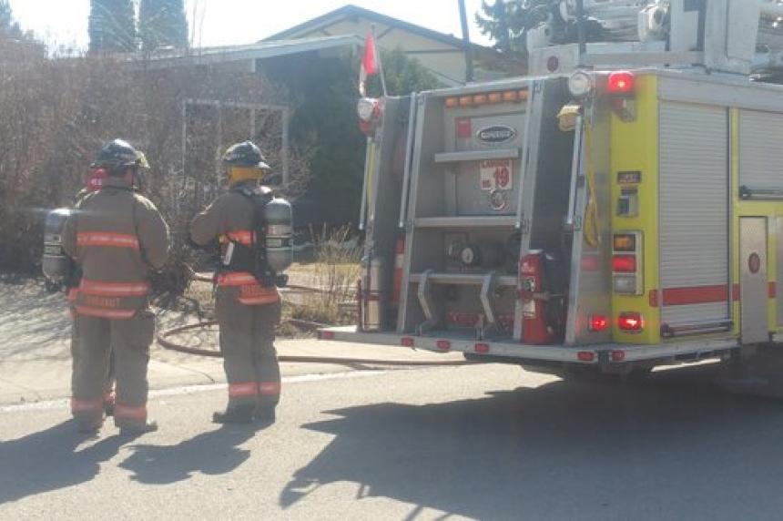 Duplex fire deemed suspicious
