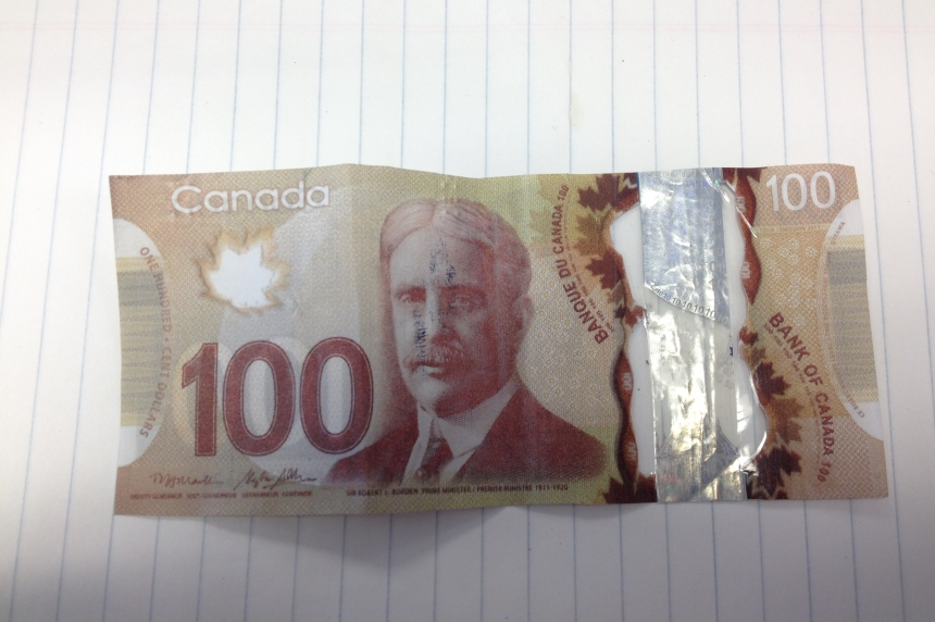 Counterfeit $100 bills being used in Kamsack area