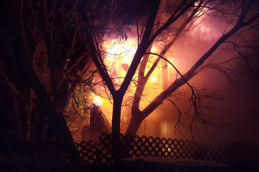 Pair of homes damaged by fire in Riversdale