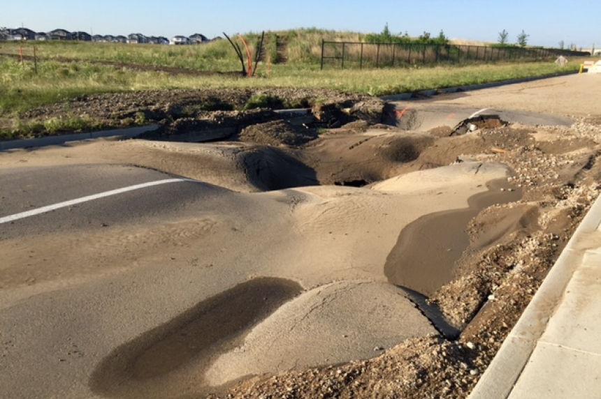 SaskPower confirms contractor involved in water main break