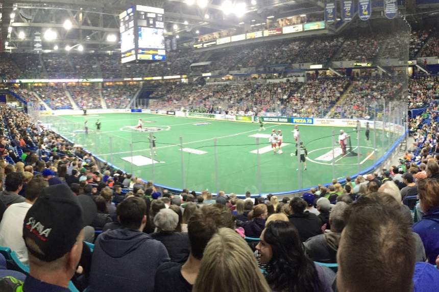 Rush and Mammoth tied for top spot in NLL west