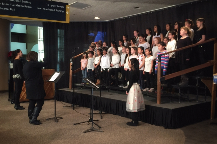 'Tis the Season: Saskatoon school choirs take the stage at Festival of Carols