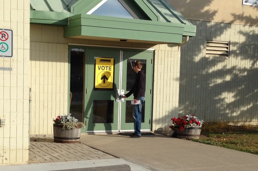 Regina voters able to quickly cast ballot