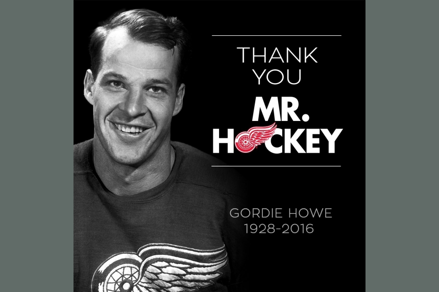Thank you Mr. Hockey: the hockey world reacts to Gordie Howe's death
