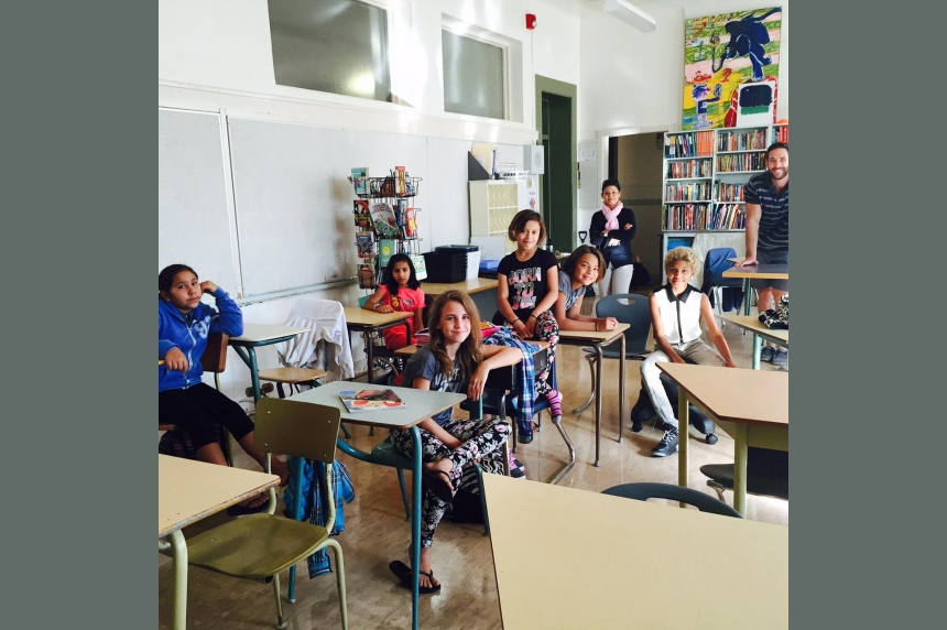 Saskatoon students happily return for first day of school