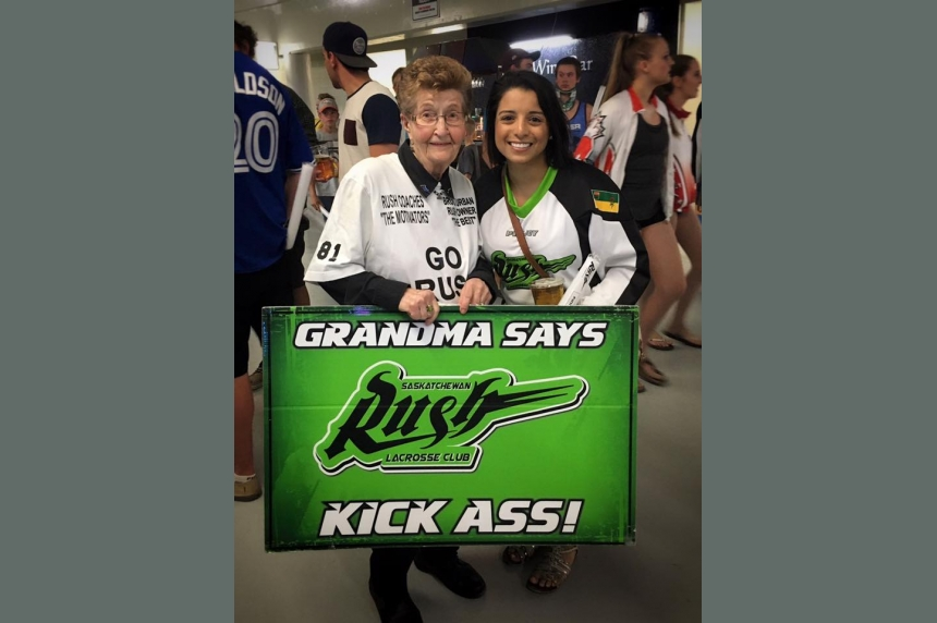 Team to honour 'Grandma Rush' at 2017 home opener