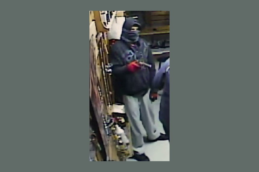 Mounties looking for suspect in Hanley armed robbery