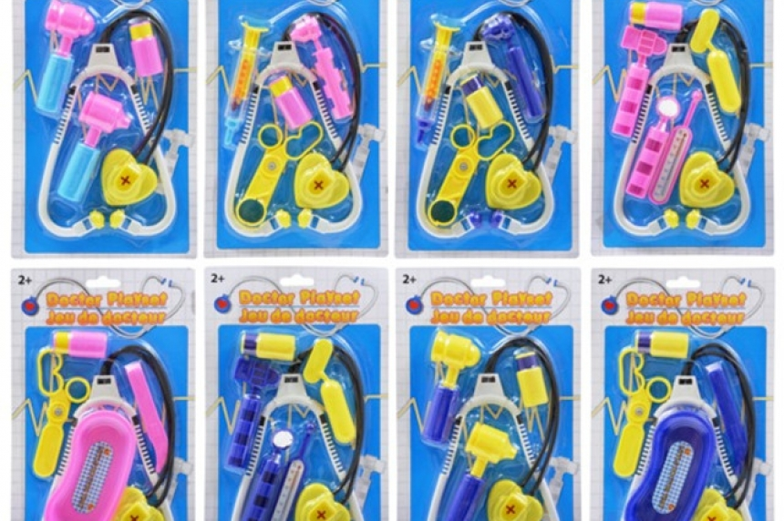 Canada-wide recall for doctor playset sold at Dollar Tree
