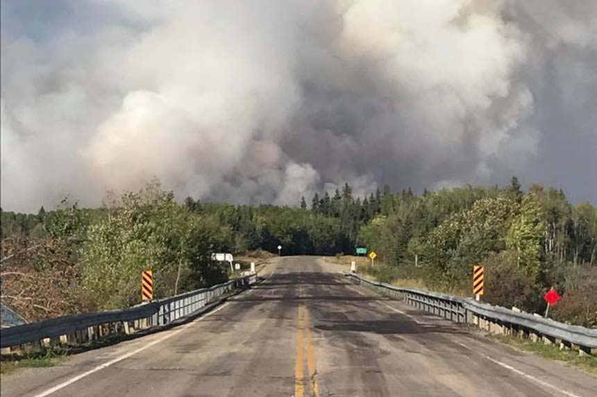 Long weekend weather cooperates with Sask. wildfire fight