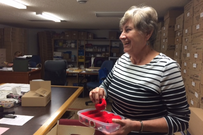 Poppy Prep: Nutana Legion organizes 200,000 poppies leading up to campaign